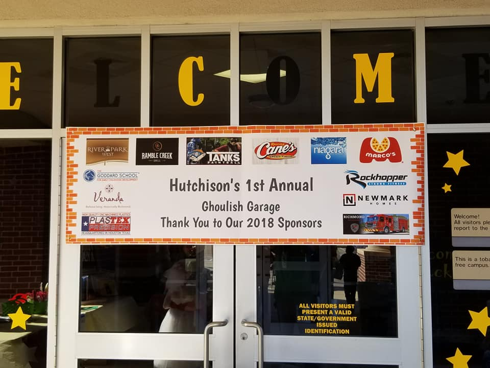 hutchinsons-first-annual-ghoulish-garage-charity-event-signage
